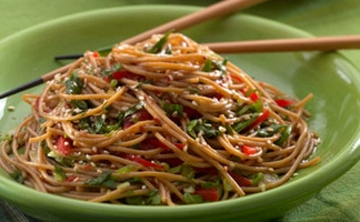 Monadnock Oil and Vinegar - sesame noodles