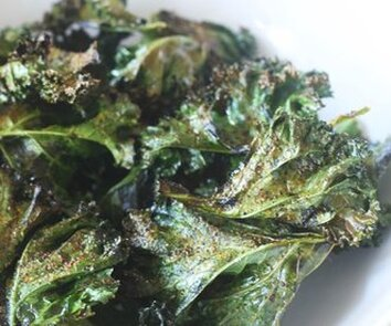 Spicy Kale Chips icture
