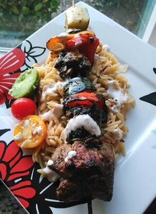 Rosemary Kabobs Picture