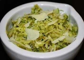 Shaved Brussels Sprouts Picture